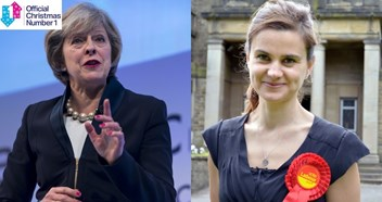 Prime Minister Theresa May backs single in memory of Jo Cox aiming for Official Christmas Number 1