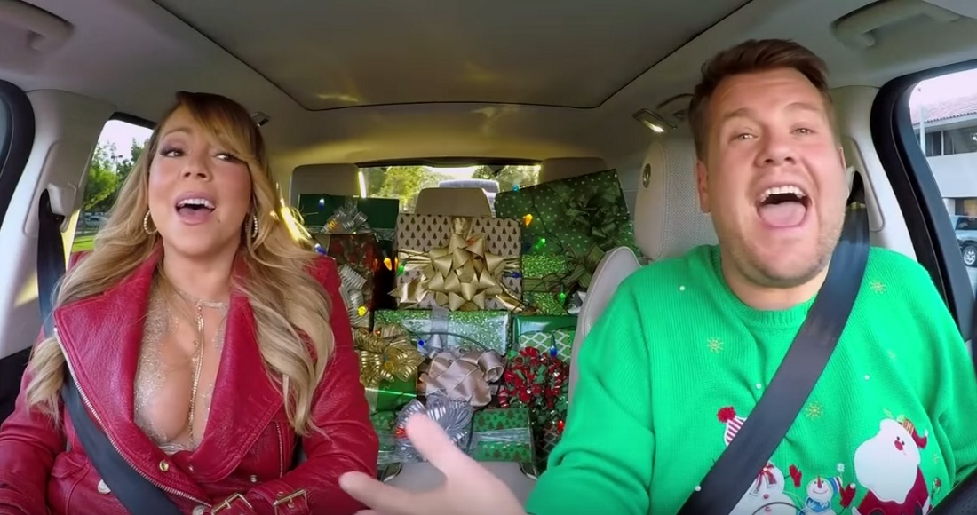 Watch Mariah Carey belt out her Xmas classic with James Corden