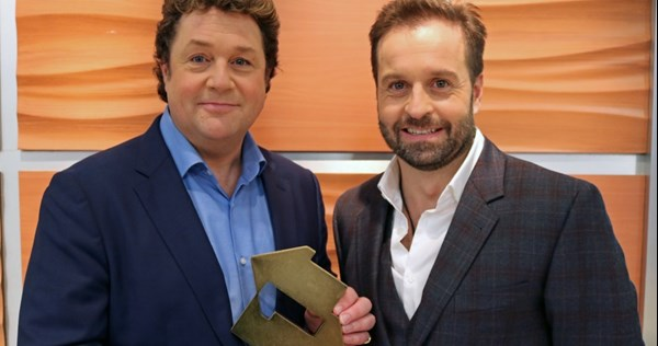 Michael Ball and Alfie Boe claim the Number 1 album