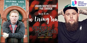 London Hospices Choir, Rag'n'Bone Man and Inspiral Carpets lead Christmas Number 1 race after 24 hours
