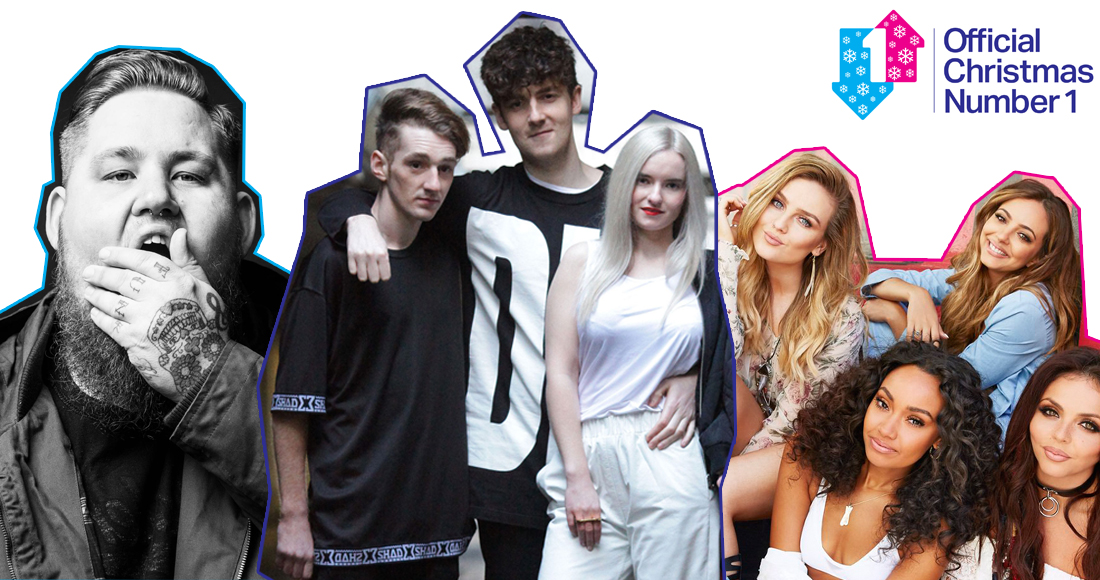 Clean Bandit, Rag'n'Bone Man and Little Mix battle for 2016's Official Christmas Number 1