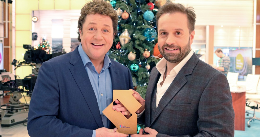 Michael Ball and Alfie Boe secure Britain's most popular album this Christmas