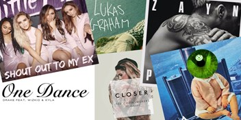 All the Number 1 singles of 2016