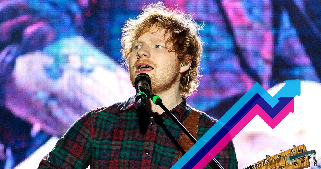 Ed Sheeran dominates this week's Official Trending Chart with two new singles Shape Of You and Castle on the Hill
