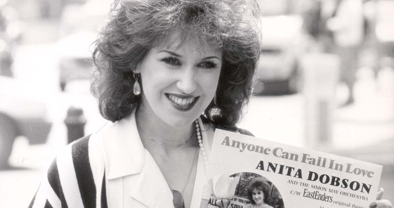 Anita Dobson complete UK singles and albums chart history