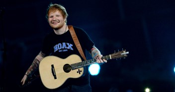 Ed Sheeran's ÷ takes early Official Albums Chart lead with 232,000 copies sold in just one day