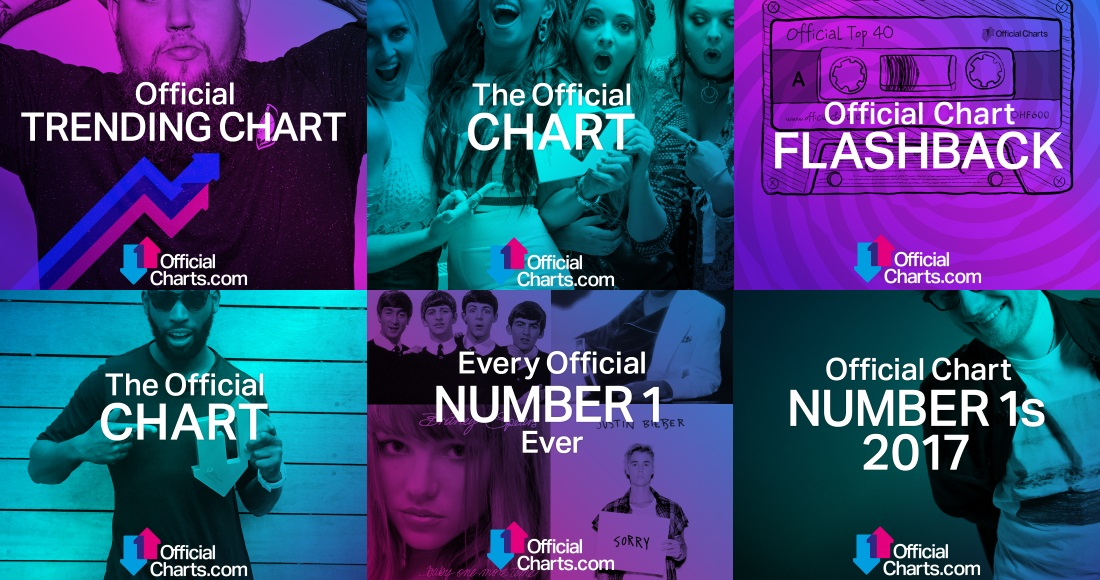 Official Charts is now on streaming services