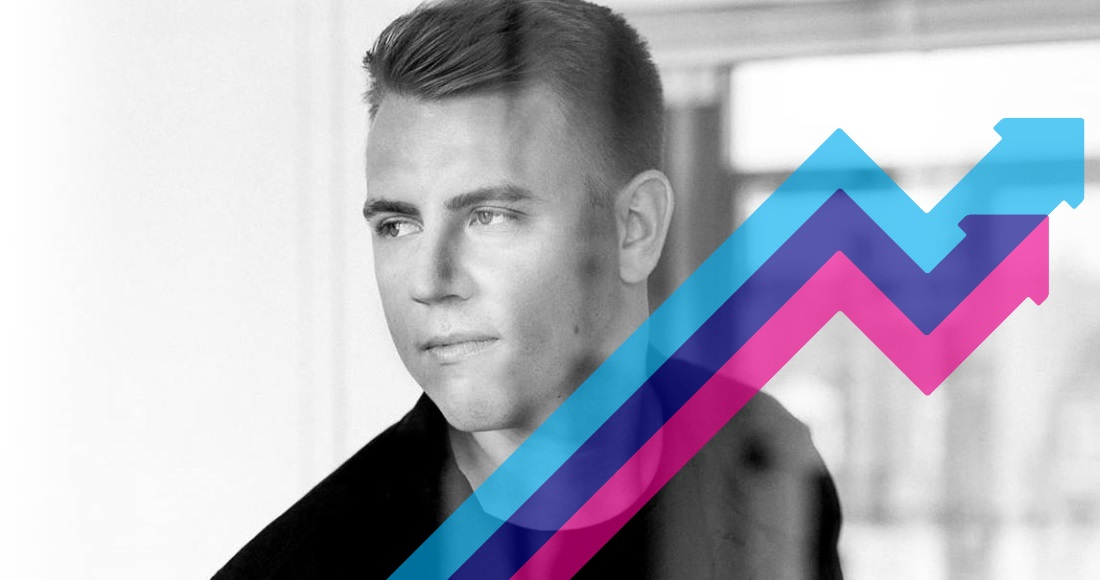 Martin Jensen's Solo Dance is Number 1 on this week's Official Trending Chart
