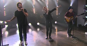 Take That make rare US TV appearance on The Late Late Show - watch