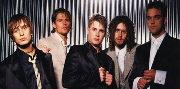 Take That's single and album covers through the years