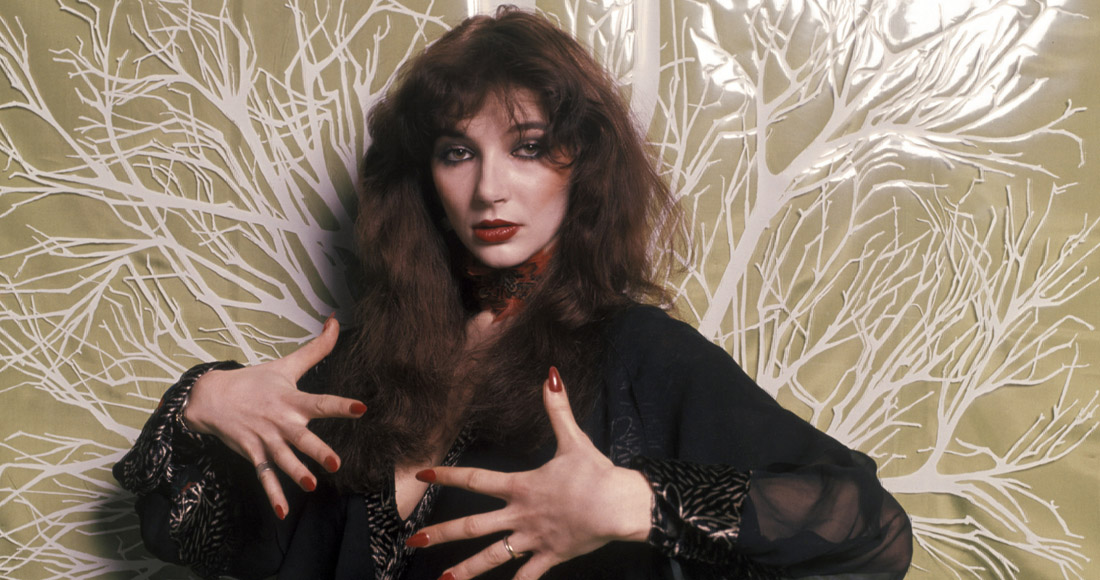 Kate Bush's Wuthering Heights ruled the Official Chart 39 years ago this month