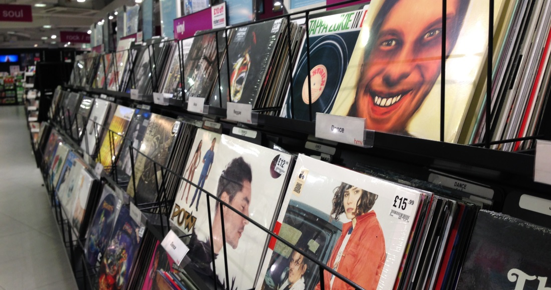 The percentage of vinyl 'superfans' revealed by the Entertainment Retailers Association in new report