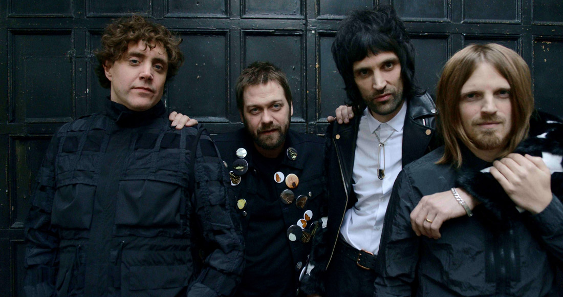 Kasabian on course to dethrone Ed Sheeran on Official Albums Chart