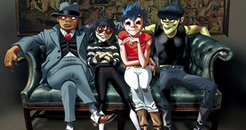 Gorillaz take on Ed Sheeran for this week's Official Albums Chart Number 1