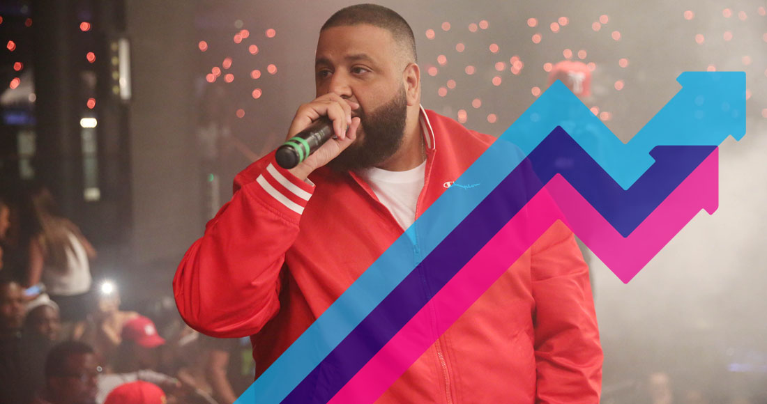 DJ Khaled's I'm The One is officially this week's Number 1 trending song in the UK