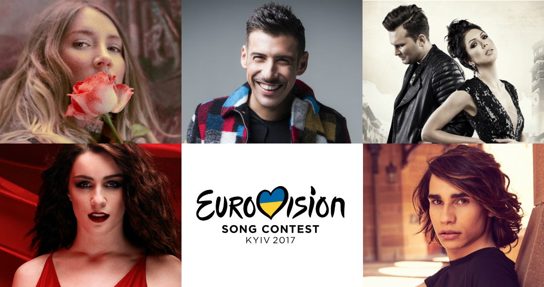 Eurovision 2017: Listen to the acts tipped to win this year's contest