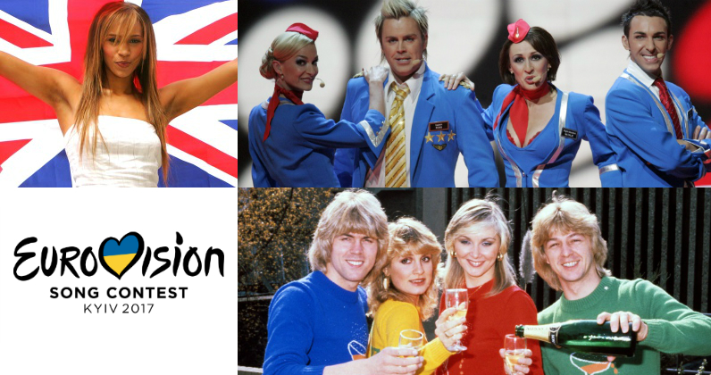 The UK's highest charting Eurovision entries
