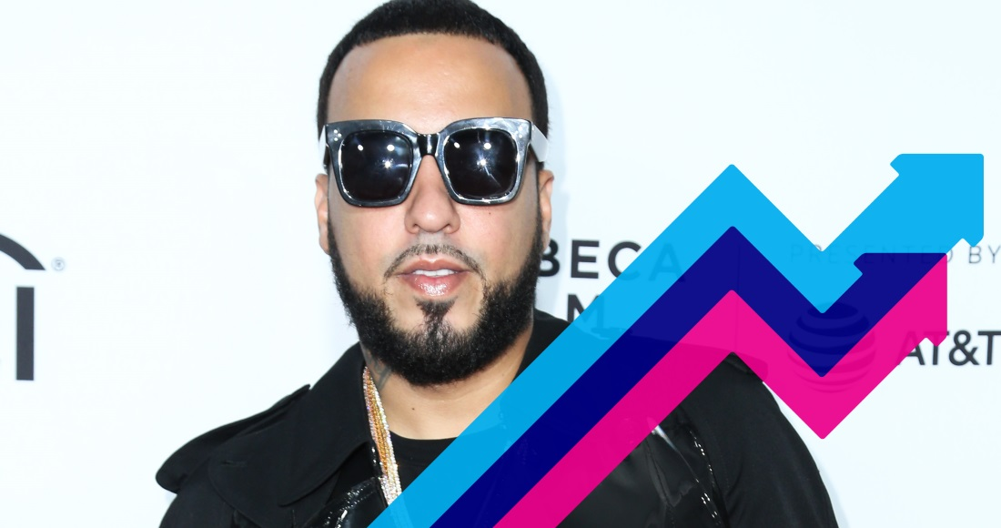 French Montana's Unforgettable dances its way to Number 1 on the Official Trending Chart