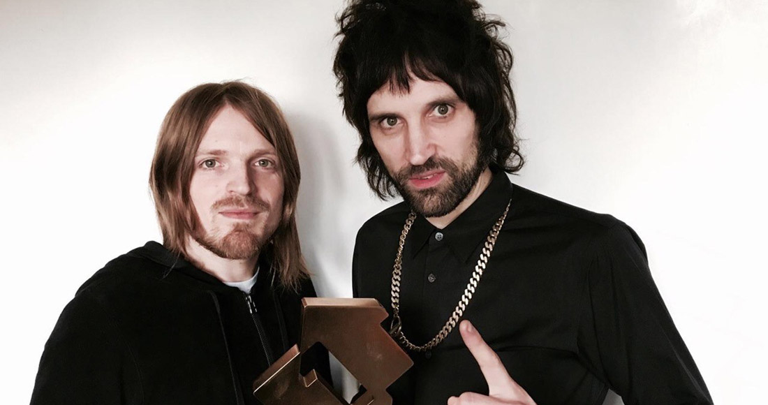 Kasabian end Ed Sheeran's reign at Official Albums Chart top