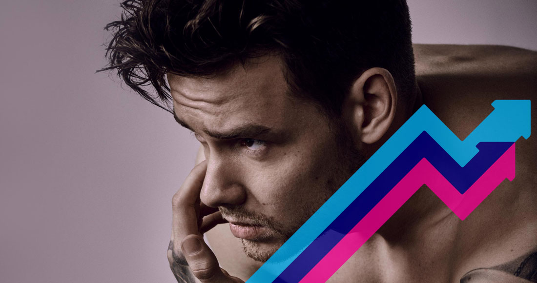 Liam Payne's Strip That Down is Number 1 on the Official Trending Chart