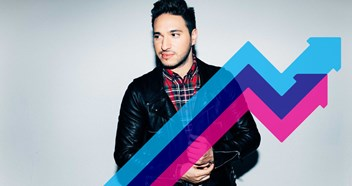 Jonas Blue's Mama is Number 1 on this week's Official Trending Chart
