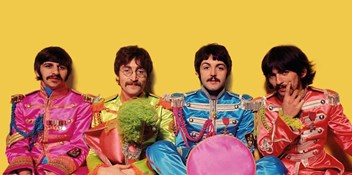 The Beatles' iconic Sgt Pepper album returns to the top on its 50th birthday
