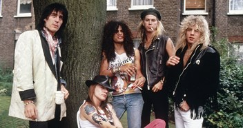 Guns N' Roses reunion tour is coming to the UK: Look back at all their hits and see where they reached on the Official Chart