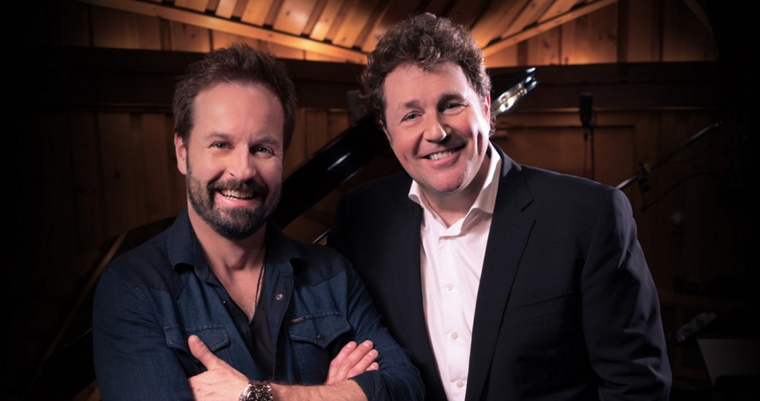 Michael Ball and Alfie Boe score a second Number 1 with Together Again