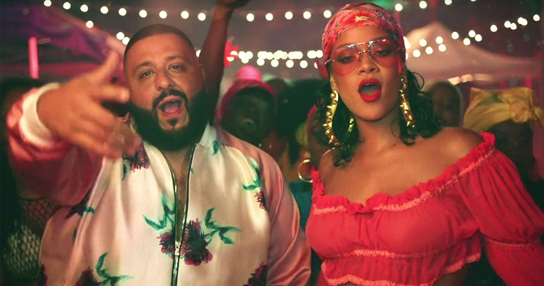 DJ Khaled and Rihanna's Wild Thoughts is on course to be this week's highest new entry on the Official Singles Chart