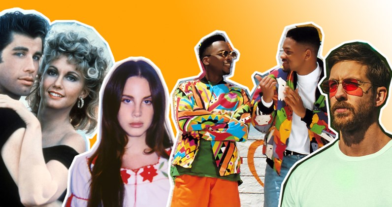 Huge selling 'summer' songs on the Official Chart
