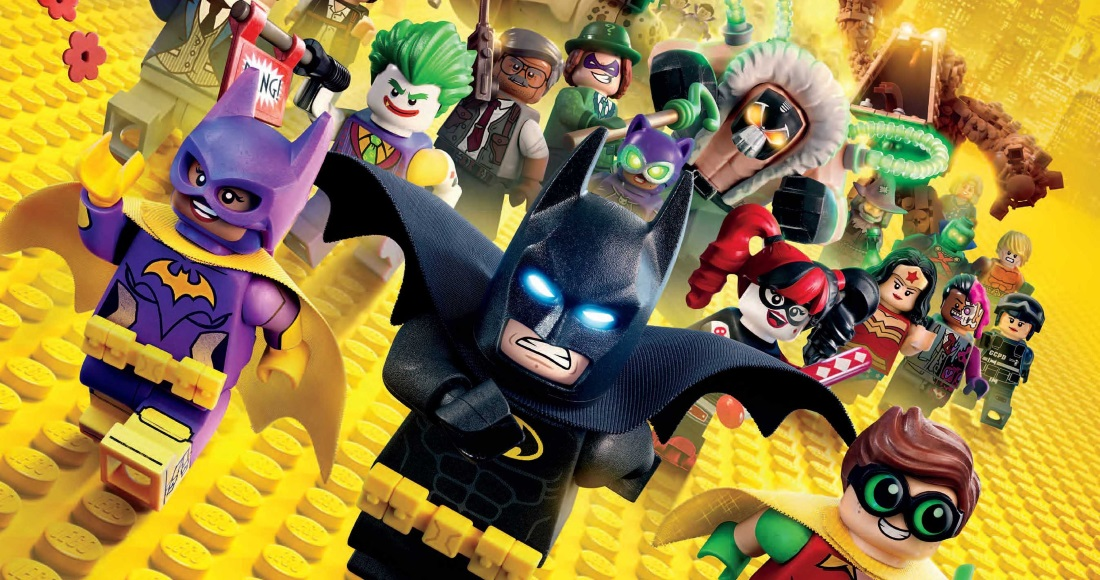 Official Video Chart Update: LEGO Batman set for Number 1
