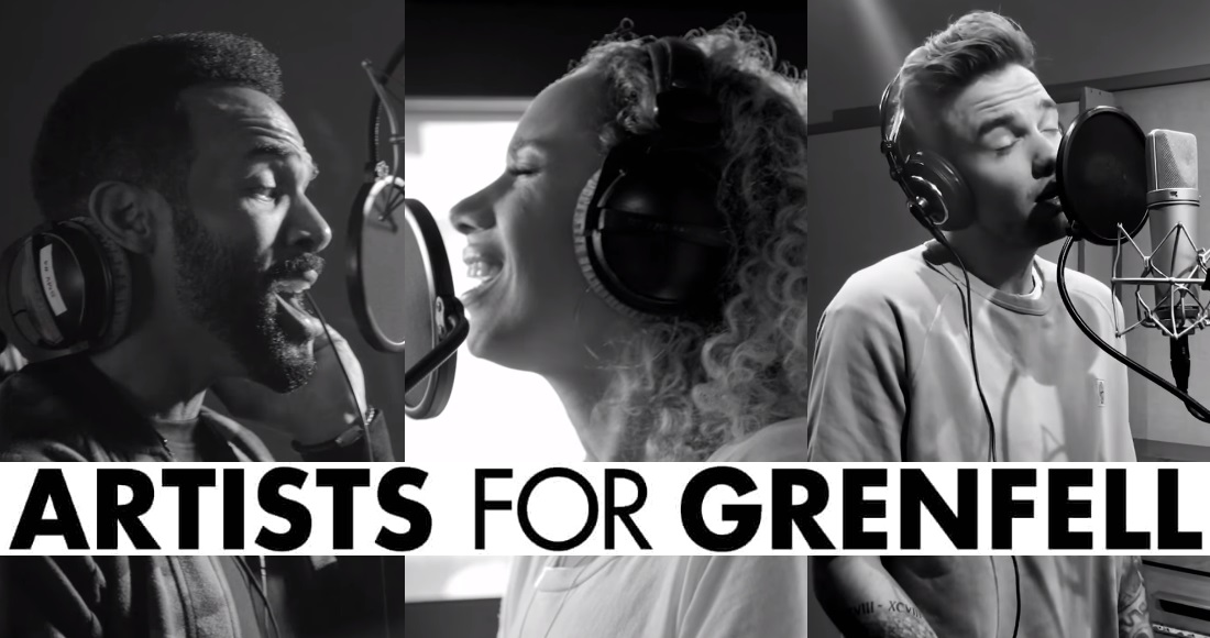 Artists for Grenfell aiming for a second week at Number 1