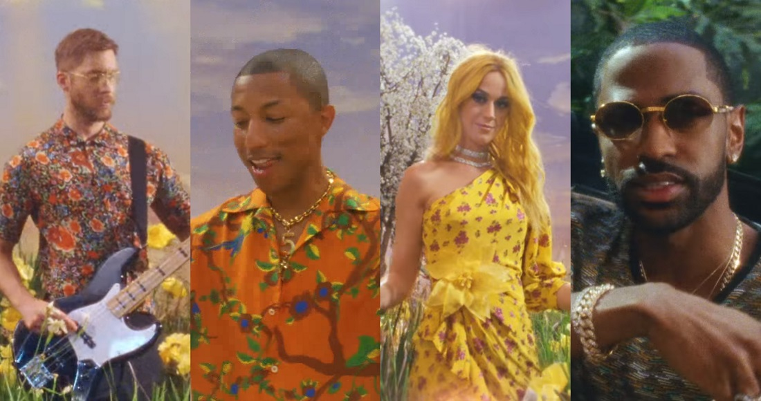 Big Sean, Pharrell and Katy Perry