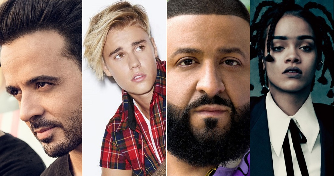 Despacito is battling DJ Khaled and Rihanna's Wild Thoughts for this week's Official UK Number 1 single