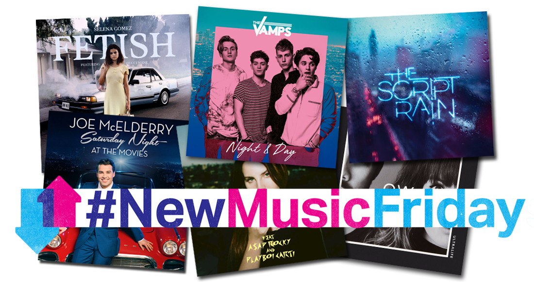 This week's new releases: The Vamps, Kesha The Script, more