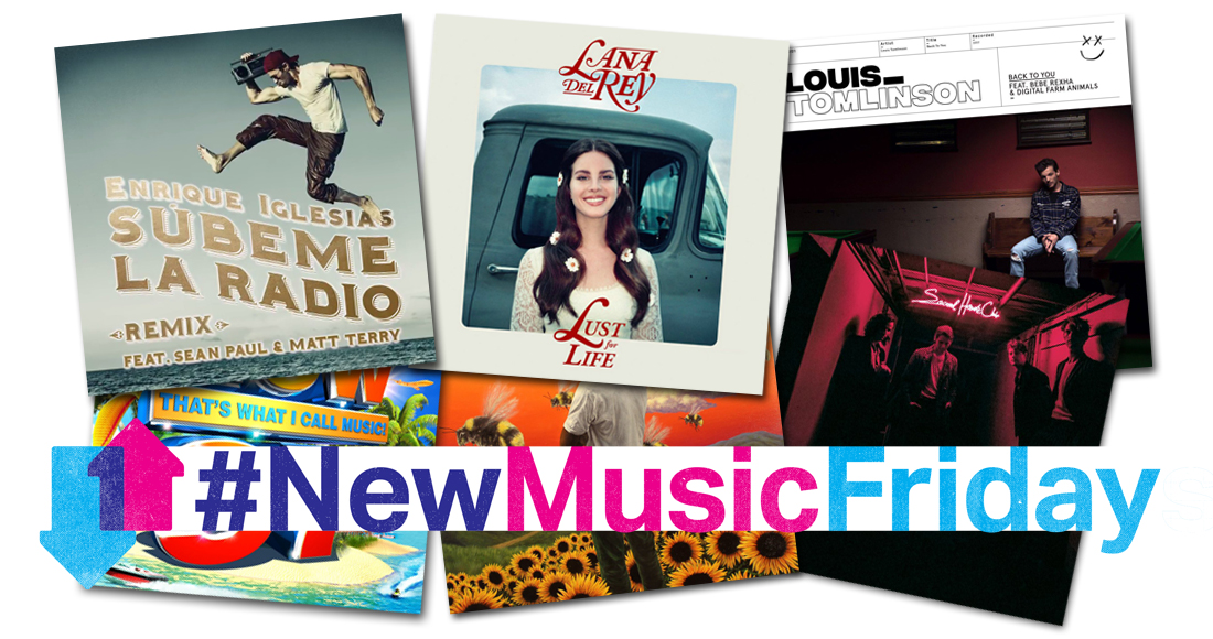 This week's new releases: Lana Del Rey, Louis Tomlinson, Dizzee Rascal