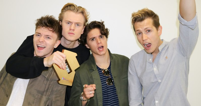 The Vamps complete UK singles and albums chart history