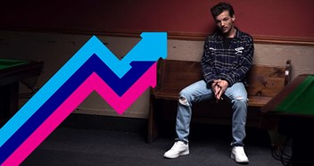 Louis Tomlinson's new single Back To You is this week's Number 1 trending song in the UK
