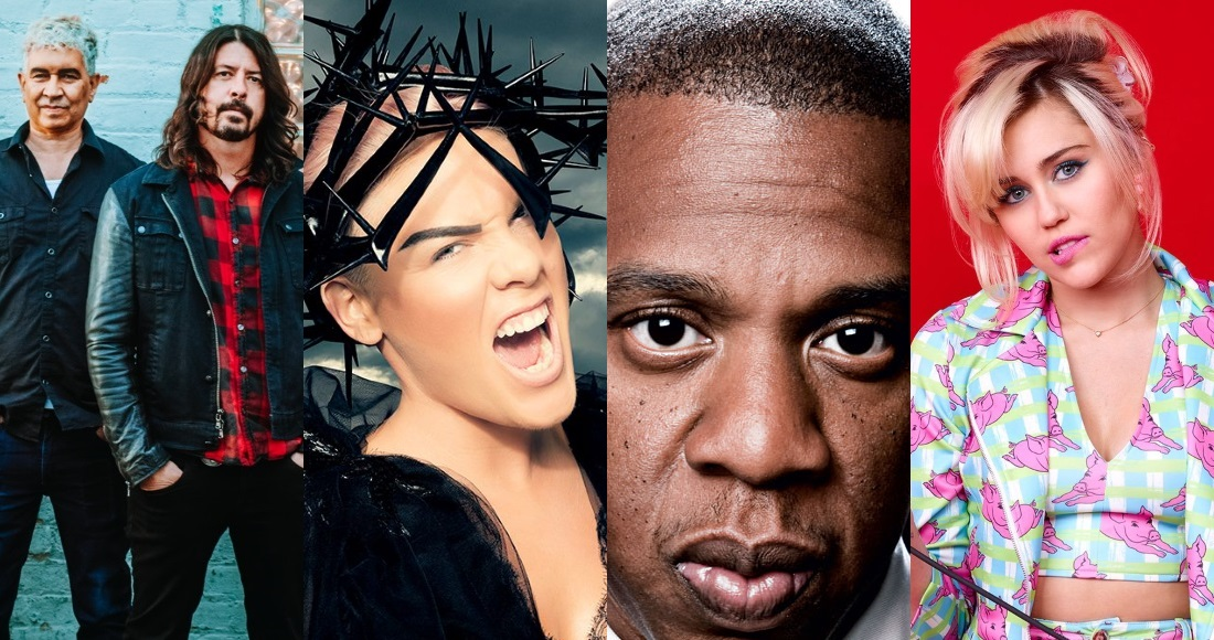 20 acts including P!nk and Jay Z for Radio 1's Live Lounge Month