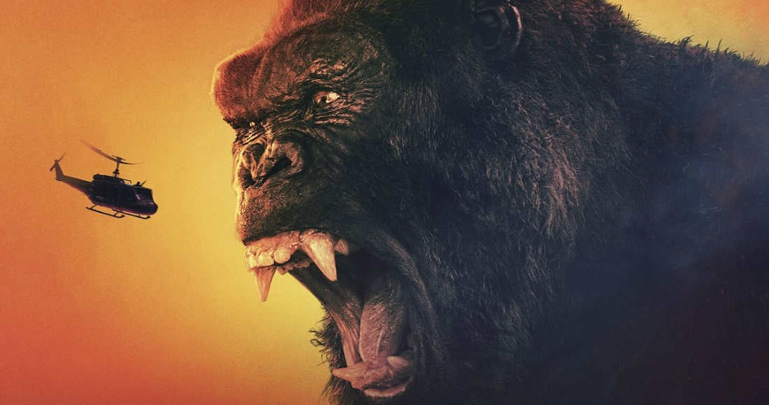 Kong: Skull Island toe-to-toe with Beauty and the Beast on the UK's DVD chart
