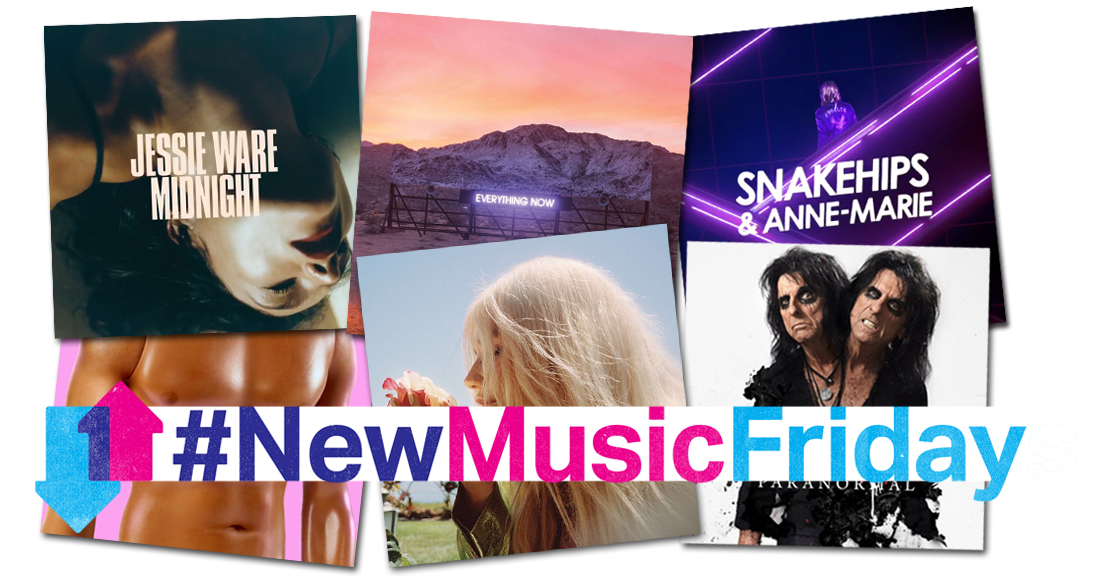 This week's new releases: Arcade Fire, Jessie Ware, Kesha, more