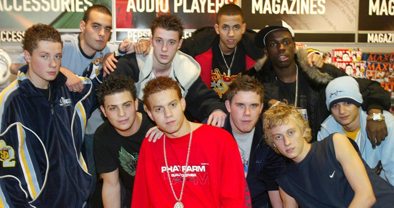 Blazin' Squad complete UK singles and albums chart history