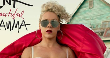 Pink's new album Beautiful Trauma will be released in October