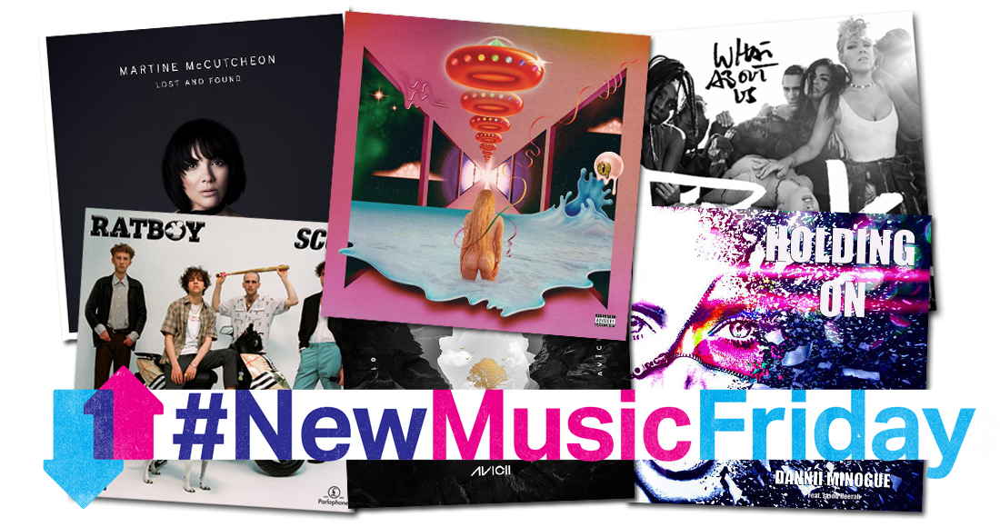 This week's new releases: Kesha, Pink, Dannii Minogue