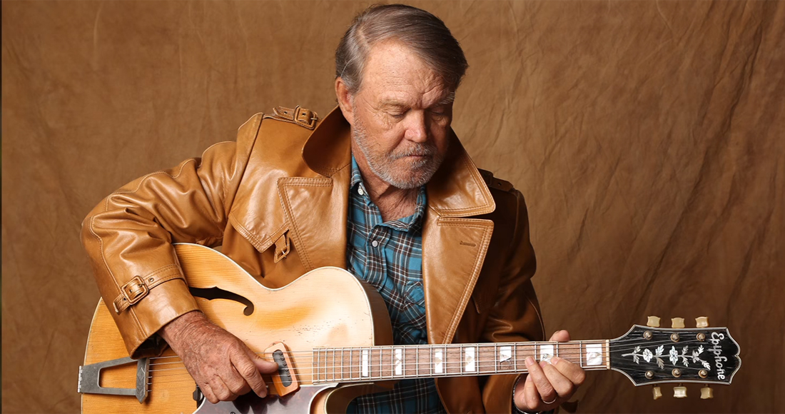 Farewell, Glen Campbell: The country star's final album reaches new peak