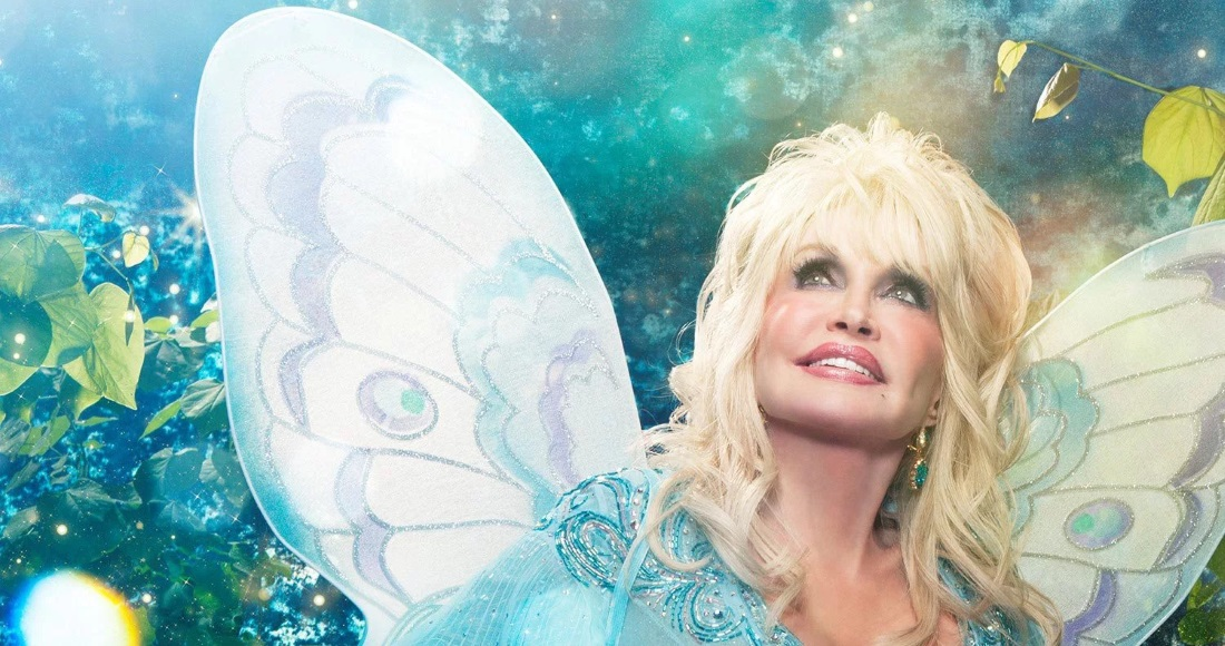 Dolly Parton is literally a fairy godmother in the artwork for her new children's album