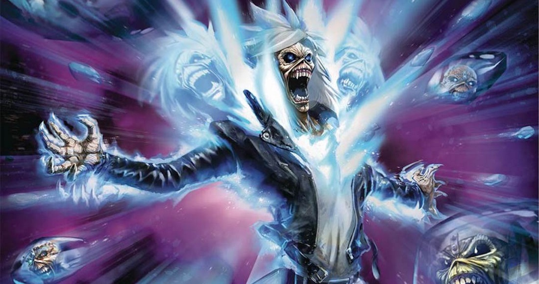 Iron Maiden are so cool, they're getting their own comic book series