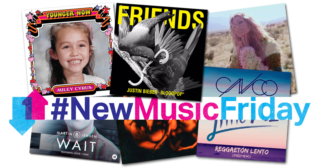 This week's new releases: Justin Bieber, Miley Cyrus, Everything Everything