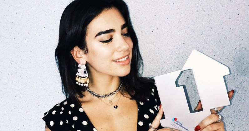 Dua Lipa Full Official Chart History Official Charts Company