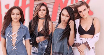 Little Mix's single and album covers through the years